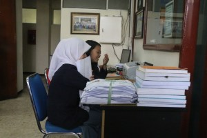 Penataan - Akuisisi Arsip Sub Bagian Registrasi Statistik