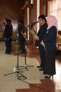 Pelantikan dan Serah Terima Jabatan Wakil Rektor