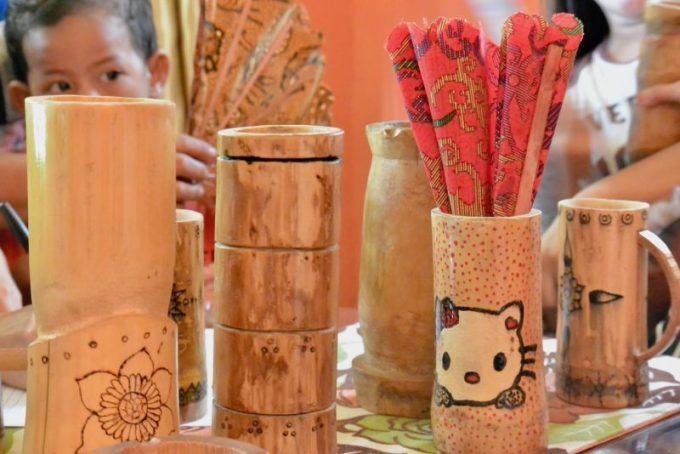 Cara Membuat Kerajinan Tangan Dari Bambu Paling Unik