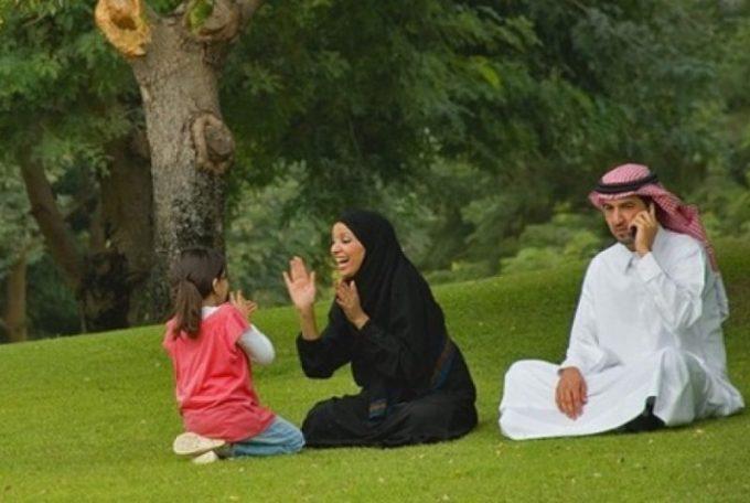 Gambaran Keluarga Muslim.