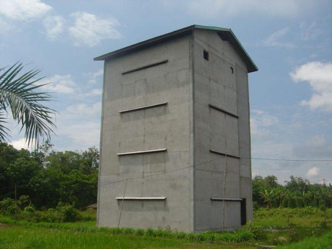 Karakteristik Gedung Budidaya Burung Walet