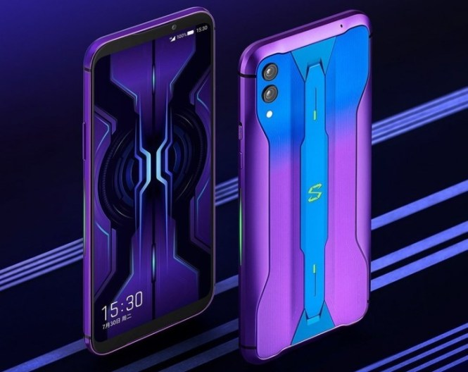 Black Shark 2 Pro now comes in a purple gradient