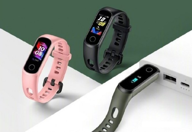 Honor Band 5i brings built-in USB-A charging port