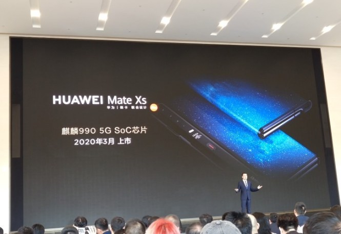 Huawei Mate Xs coming in March 2020