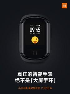 Xiaomi smartwatch teaser