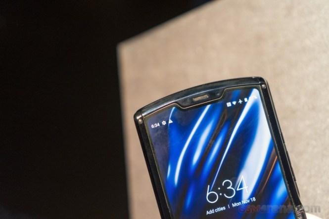 Motorola Razr hands-on