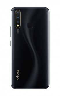 vivo Y19 in Black and White