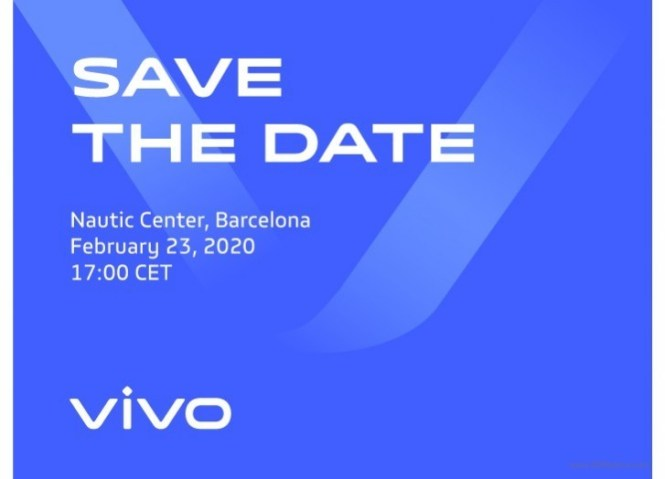 vivo is launching a new smartphone at MWC 2020 on February 23