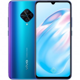 vivo V17 in Blue Fog color