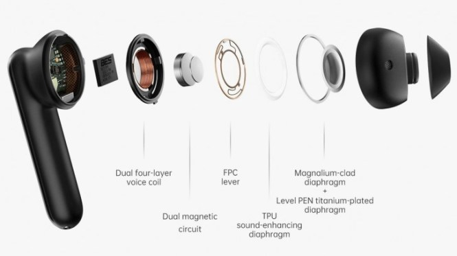 Oppo Enco Free TWS earphones arrive with Bluetooth 5.0 and 25-hour battery life