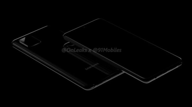 First Samsung Galaxy Note10 lite (A81) renders show a different camera hump