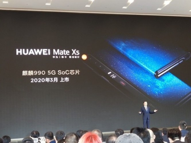 Revised Huawei Mate X with Kirin 990 and improved hinge coming MWC 2020
