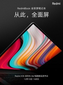 New RedmiBook teasers