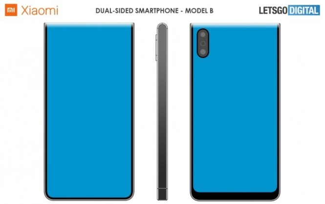 Xiaomi patents dual-sided smartphones with wraparound displays