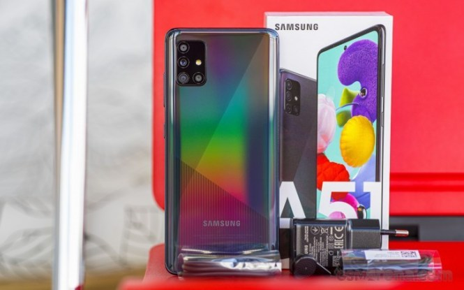 Samsung Galaxy A51 in for review