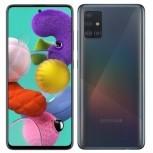 Samsung Galaxy A51 in Prism Crush Black color