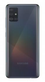 Samsung Galaxy A51 in Crush Black