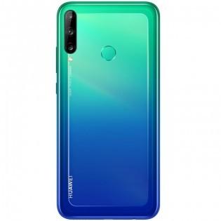 Huawei Y7p in Aurora Blue color