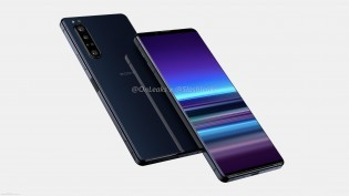 Sony Xperia 5 Plus renders