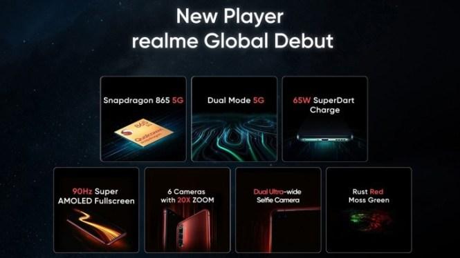 Realme X50 Pro 5G confirmed specs