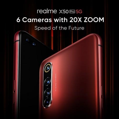 Realme X50 Pro camera details revealed alongside samples