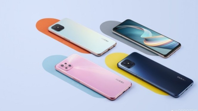 Oppo A92s appears in official renders, revealing design and color options