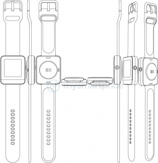 Another smartwatch design by Realme