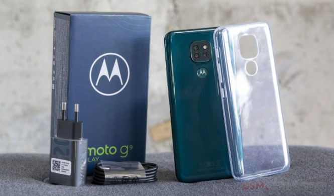 Motorola Moto G9 Play in for review
