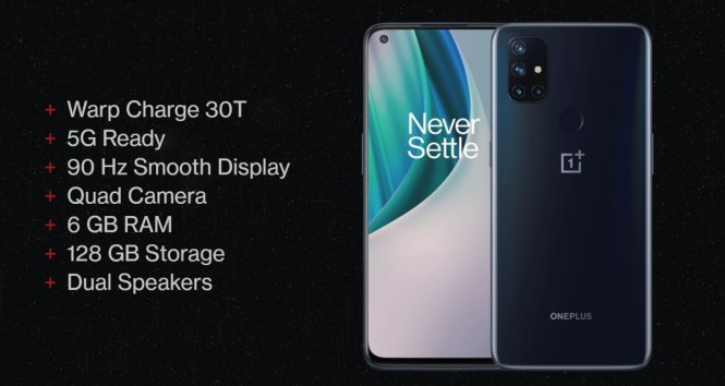 OnePlus Nord N10 5G and N100 unveiled: mid-rangers with LCDs and Snapdragon chipsets