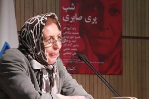 دکتر ژاله آموزگار ـ عکس از مجتبی سالک