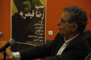 منوچهر سادات افسری ـ عکس از ژاله ستار