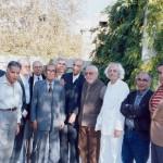 با دکتر باستانی پاریزی، محمود روح الامینی، همایون صنعتی زاده و هوشنگ مرادی کرمانی