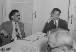ایرج افشار به همراه دکتر زریاب خویی
