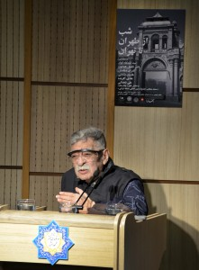 استاد سیدعبدالله انوار ـ عکس از متین خاکپور