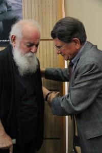 محمدرضا شجریان و ه.ا.سایه ـ عکس از ژاله ستار