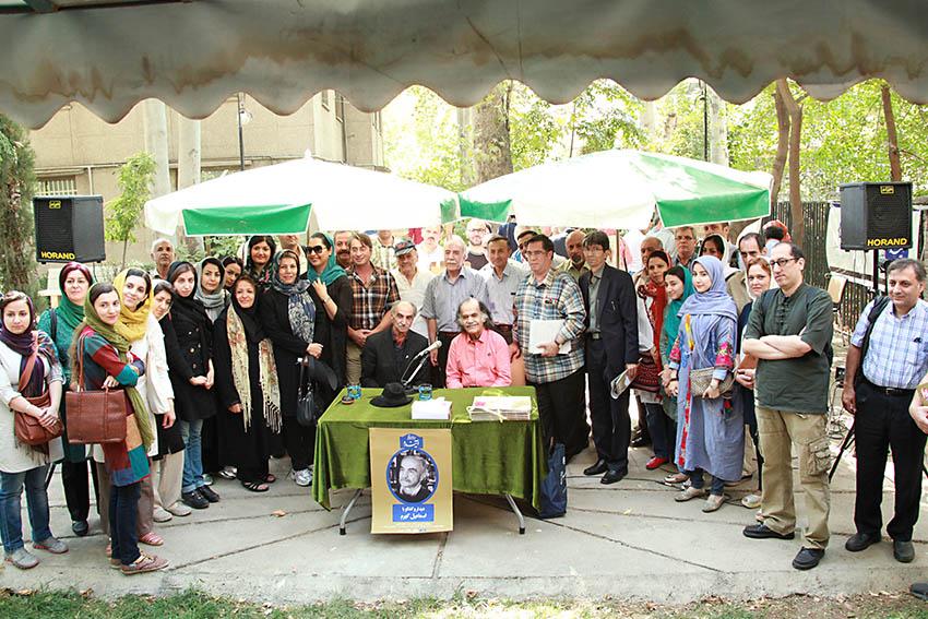 عکس یادگاری با دکتر اسماعیل کهرم ـ عکس از مجتبی سالک