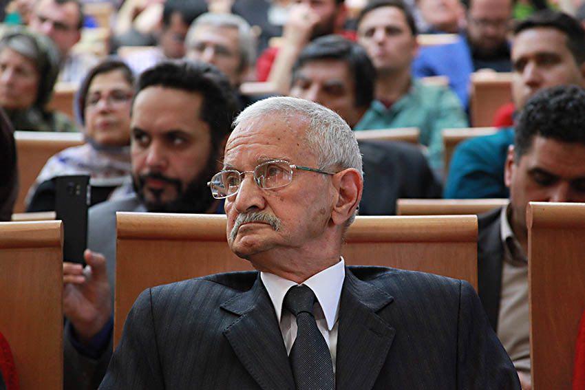 دکتر محمد حسن ابریشمی ـ عکس از مریم اسلوبی