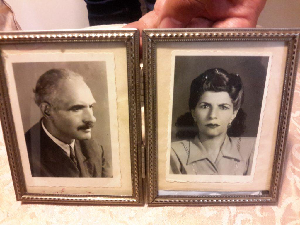 حبیب یغمایی و همسرش