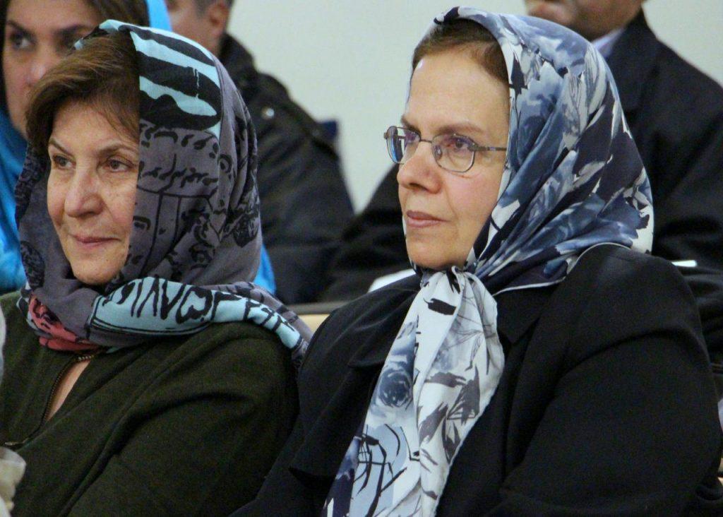 لیلی حایری و دکتر شیرین موسوی
