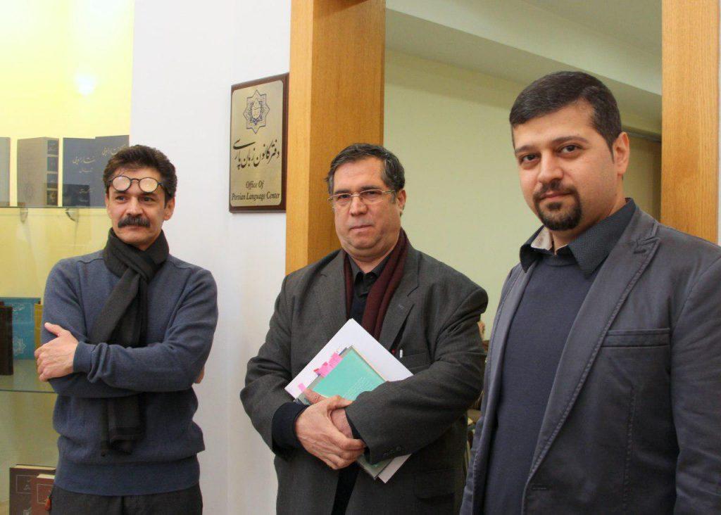 دکتر محمد افشین وفایی، علی دهباشی و زردشت اخوان ثالث