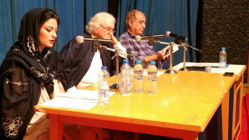 خانم کیانوش انصاری متن فارسی سخنرانی دکتر شایگان را قرائت کرد.