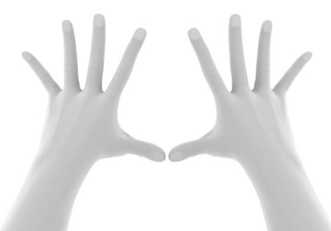【イラスト】<パーツ練習>手を描く①【超初心者】