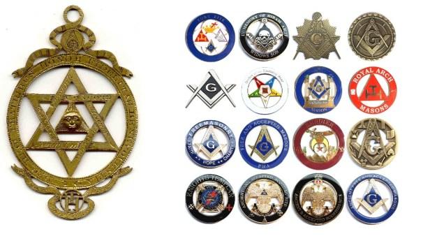 Masonų ženklai