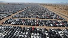 nauji neparduoti automobiliai