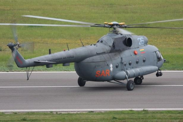 MI8 sraigtasparnis