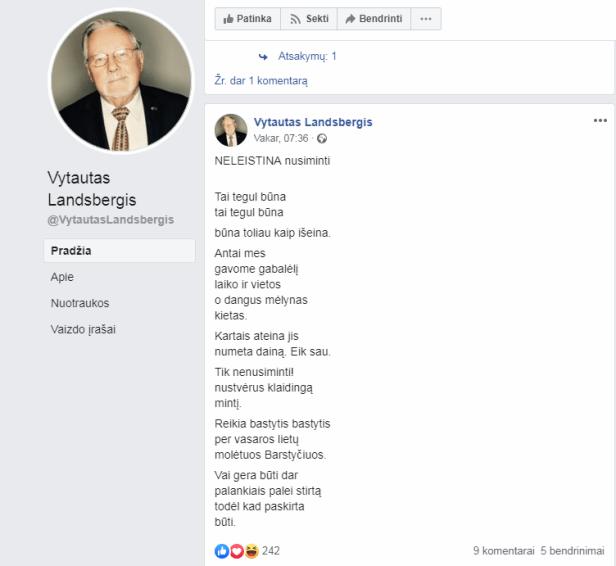 Vytautas Landsbergis Neleistina nusiminti.PNG