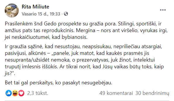 """Elitinė žurnalistė Rita Miliūtė užsipuolė """"bybianosius"""""""