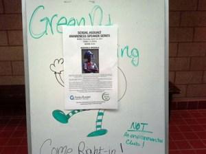 Green Dot Poster