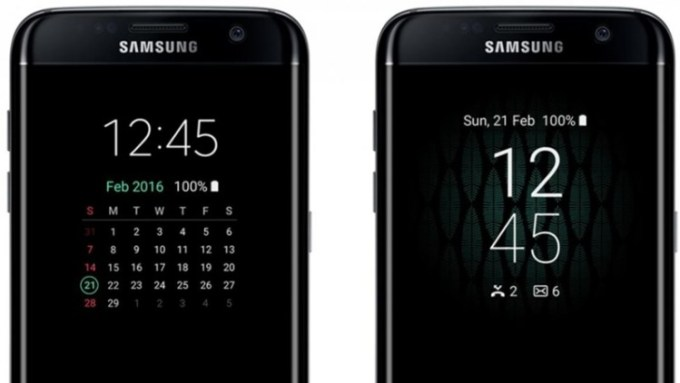 alway on display samsung galaxy s7 edge