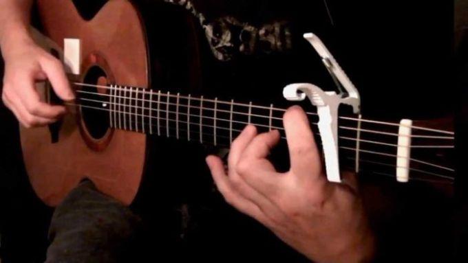 belajar memetik gitar menggunakan tekinik full